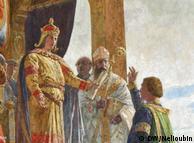 1226 год. Фридрих II дарует Любеку статус вольного имперского города. Роспись в ратуше