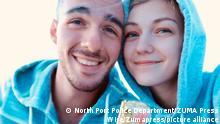 Gabby Petito (right) and her boyfriend Brian Laundrie