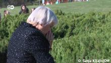 Bundestagsvizepräsidentin Claudia Roth besucht die zentrale Gedenkveranstaltung zum 80. Jahrestag des Massakers von Kragujevac (Serbien) Das Bild ist aus dem Beitrag von unsere Korrespondentin Sanja Kljajic