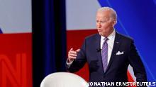 Baltimore Präsident Joe Biden bei CNN