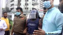 by our partner bdnews24.com. Bangladesh police arrested Iqbal Hossain for allegedly placing a copy of the Quran at a Durga Puja venue which triggered a series of deadly attacks on Hindus across the country.