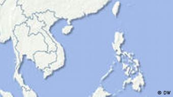 Karte Südchinesisches Meer