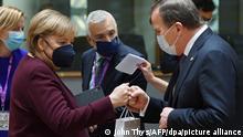 Ангела Меркель с другими участниками саммита ЕС в Брюсселе