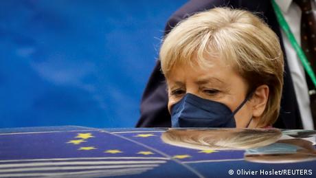 Belgien   EU Gipfeltreffen in Brüssel - Angela Merkel
