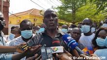 Fodé Mané, um dos advogados de defesa dos sindicalistas