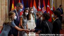 Spanien Oviedo   Biontech Gründer erhalten Asturias Preis