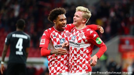 Bundesliga: Burkhardt impresses as vibrant Mainz explode into form