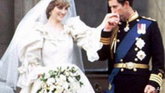 Prinz Charles heiratet Diana