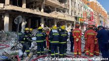 China Shenyang   Gasexplosion bei Restaurant