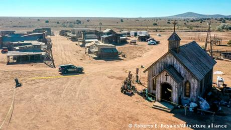 New Mexiko I Bonanza Creek Ranch I Schusswaffe Filmset