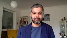 Shamil Shams Ort: Bonn, Germany Schlagwörter: Pakistan, Shamil Shams Sendedatum: 23.10.2021 Rechte: DW Bildbeschreibung: DW reporter Shamil Shams