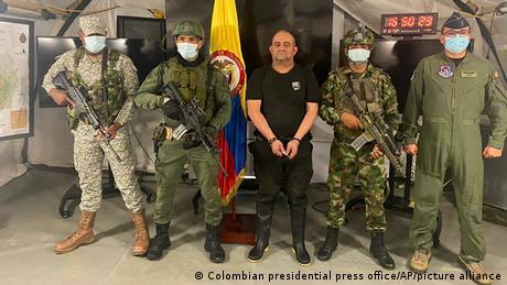 Kolumbien Dairo Antonio Usaga bekannt als Otoniel festgenommen