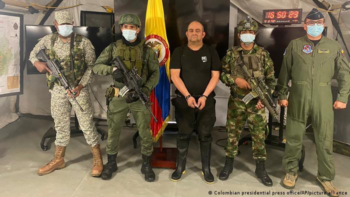 Narcotraficante mais procurado da Colômbia é preso