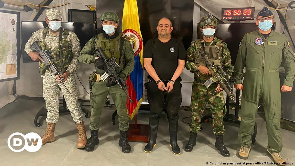 "Schlag gegen Drogen-Mafia Kolumbiens: ""Otoniel"" festgenommen"
