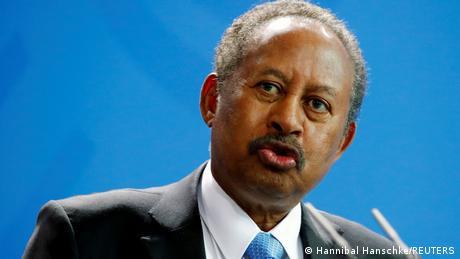 Sudan's Premierminister Abdalla Hamdok