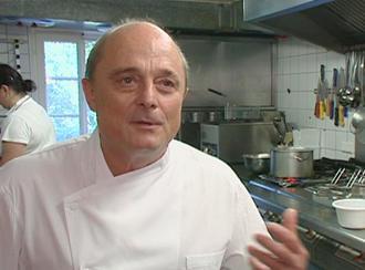 Koch Jörg Mink vom Gasthaus zur Linde