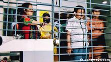 Students have detained teachers and officials at Rabindra University