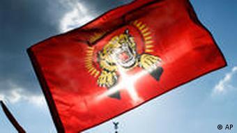 LTTE Fahne Tamilische Rebellen Berlin