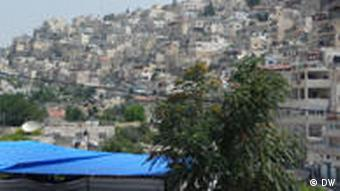 Blick auf Silwan (Foto: DW/ Daniel Pelz)