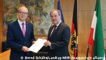 Düsseldorf | Laschet legt Amt als Ministerpräsident nieder