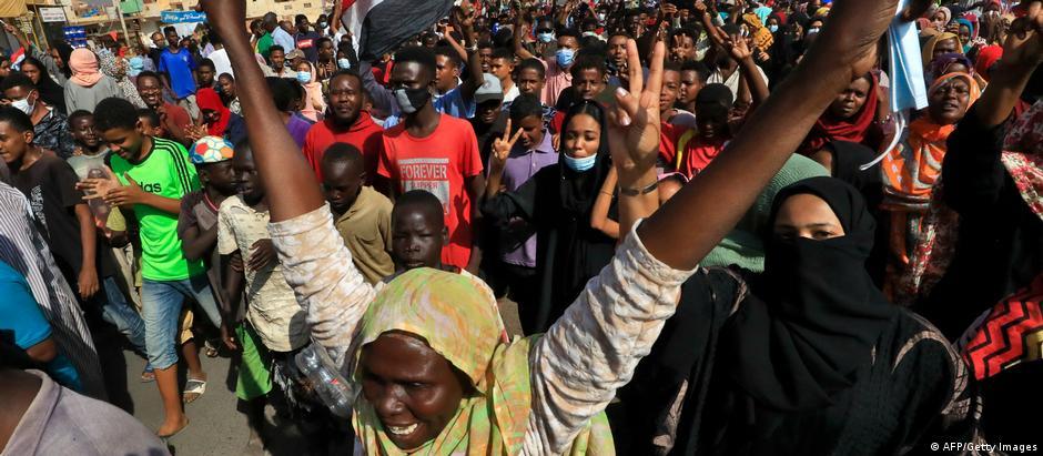 Sudan   Proteste in Khartoum