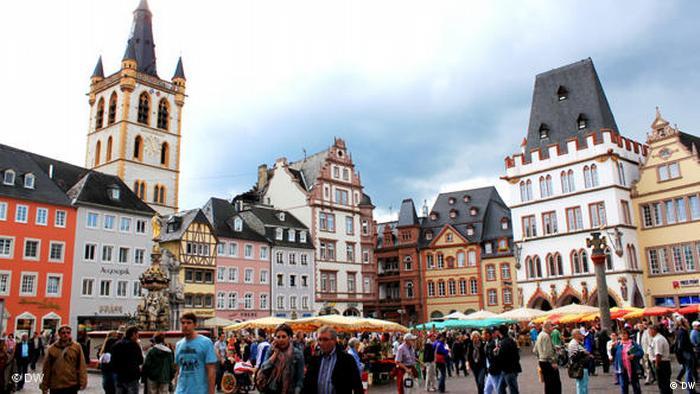 Flash-Galerie Hauptmarkt in Trier (DW)