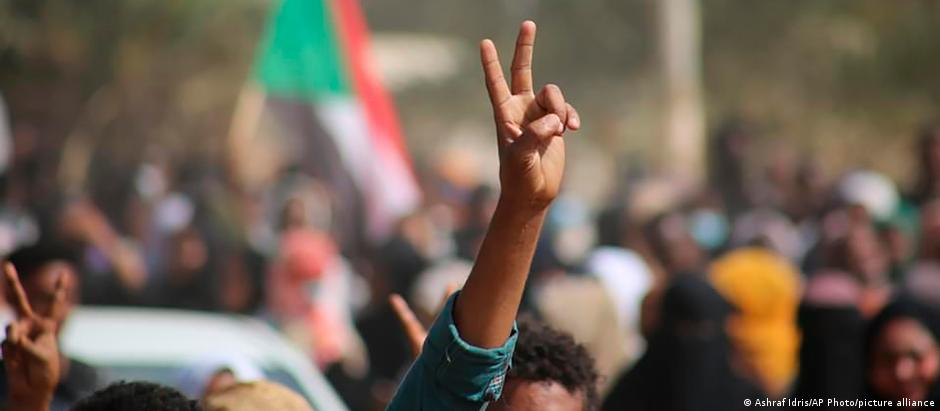 Sudan coup protests