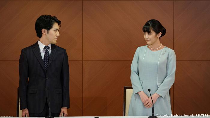 Princesa japonesa se casa com plebeu e perde título