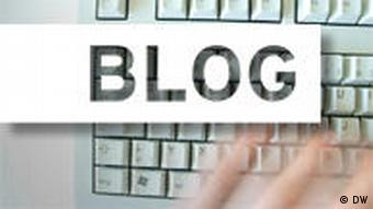 A keyboard with the word Blog super-imposed over it