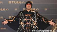 TAIPEI, TAIWAN - OCTOBER 03: Singer NameweeMing Chih Huangarrives at The 31st Golden Melody Awards at Taipei Music Center on October 03, 2020 in Taipei, Taiwan. (Photo by Gene Wang/Getty Images)