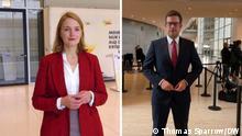 Florian Müller und Ria Schröder - neue Gesichter im Deutschen Bundestag 26.10.2021 via Sascha Brinkmann Di, 26.10.2021 19:01
