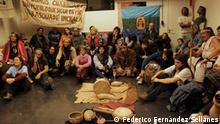 Uruguay   Miembros de la minoría indígena charrúa, en Montevideo.