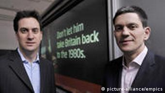 Ed und David Miliband (Foto: picture-alliance/empics)