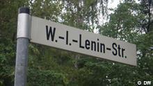 Umbenennung einiger Straßen in Ostdeutschland