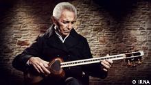 Titel: Farhang Sharif Bildbeschreibung: Farhang Sharif war ein iranischer Musiker. Stichwörter: Farhang Sharif, iranischer Musiker, Musiker. Quelle: IRNA Lizenz: Frei