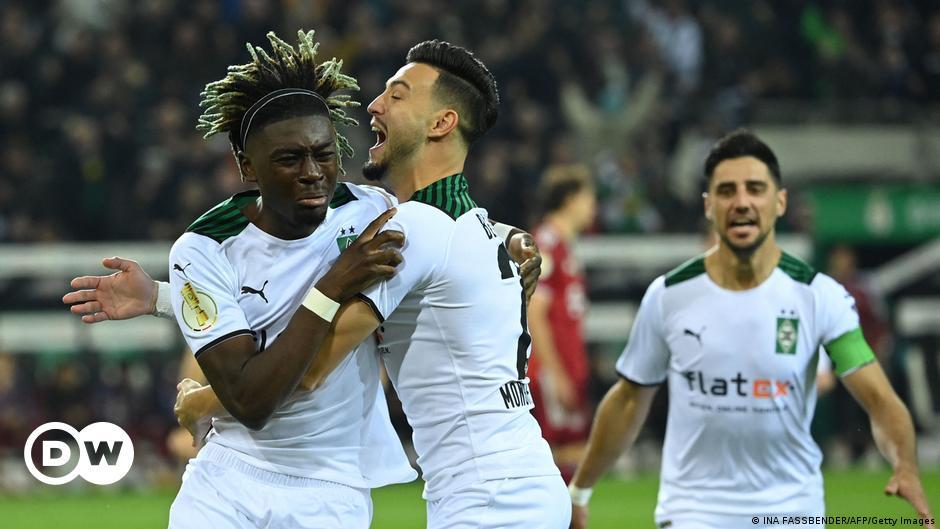 DFB-Pokal: Gladbach lässt den Bayern keine Chance
