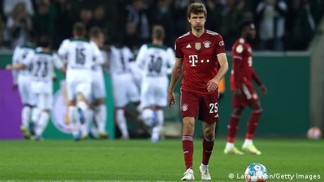 Thomas Müller in Borussia Mönchengladbach v Bayern Munich