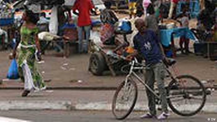 Elfenbeinküste Stadt Yamoussoukro Land und Leute Markt