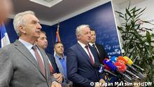 Bosnien Herzegowina Abstimmung Republik Srpska Veto von Milorad Dodik