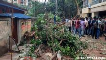 Bangladesh | DSCC demolished extensive parts of a Member of Parliament's residence