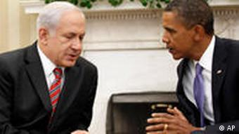 Washington Friedensgespräche Nahost Obama Netanyahu