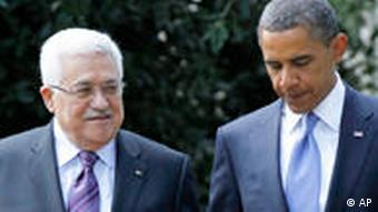 USA Barack Obama Mahmoud Abbas