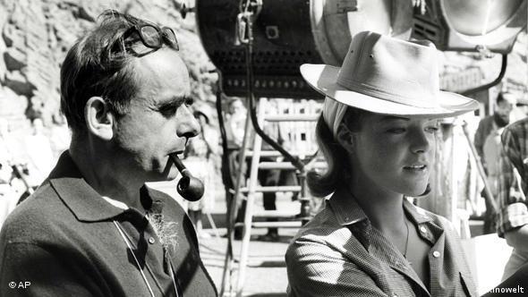 Georges Clouzot und sein Star Romy Schneider bei den Dreharbeiten zu 'Die Hölle' (Foto: Kinowelt)