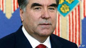 Emomalii Rahmon Präsident Tadschikistan