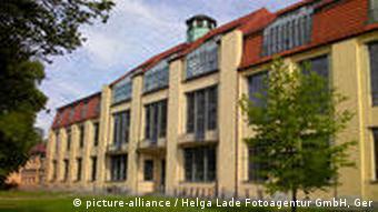 نمایی از دانشگاه وایمار در ایالت تورینگن آلمان