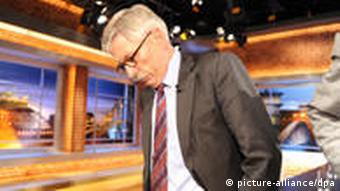 Thilo Sarrazin on a major German TV talk-show