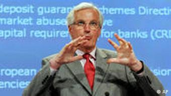 European Union Commissioner for Internal Market and Services Michel Barnier