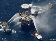 A diferencia de Deepwater Horizon, la plataforma Vermillion 380 A operaba en aguas de sólo 100 metros de profundidad.