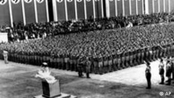 Eröffnungsfeier der Olympiade 1936 in Berlin