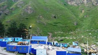 Baustelle am Elbrus Kaukasus Russland